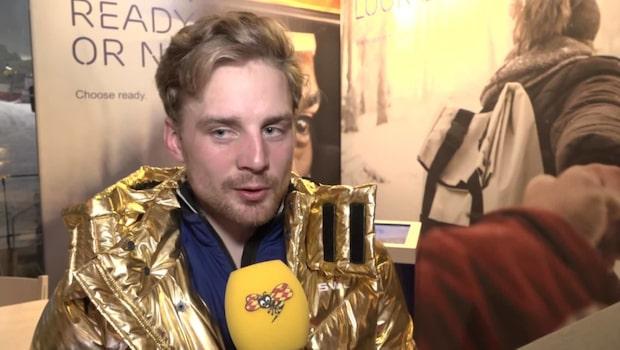 """Jesper Nelin: """"Vi har inte hunnit prata nåt idag"""""""