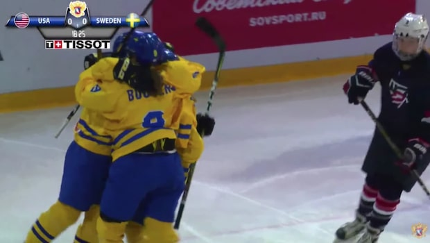 Historisk silvermedalj till Sverige i U18-VM - se höjdpunkterna här