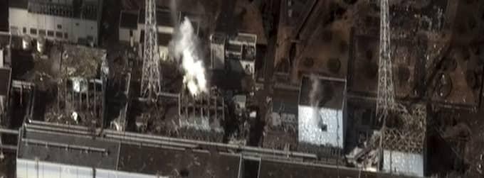 Reaktor 4 på kärnkraftverket Fukishima.