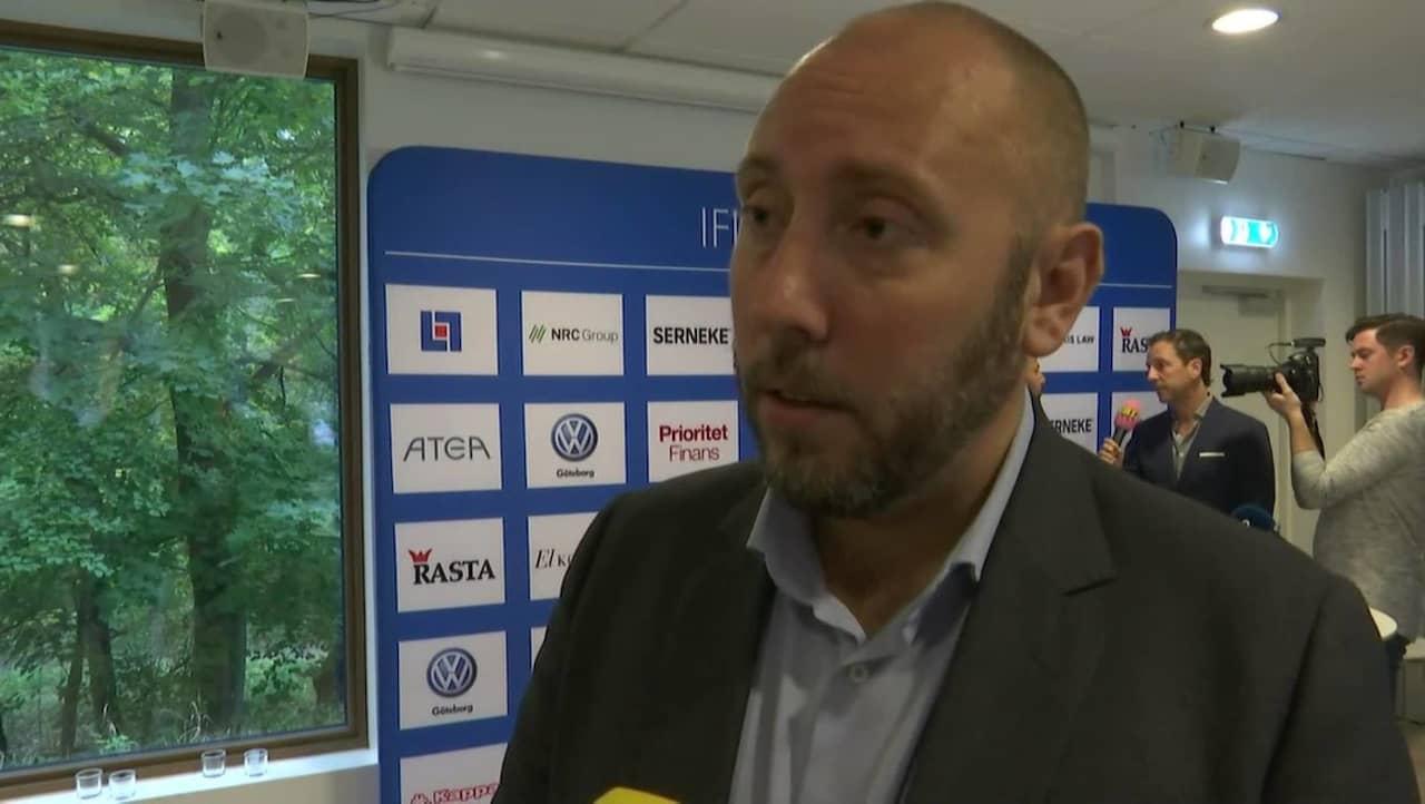 TV: IFK Göteborgs tydliga stöd till Asbaghi: Alltid