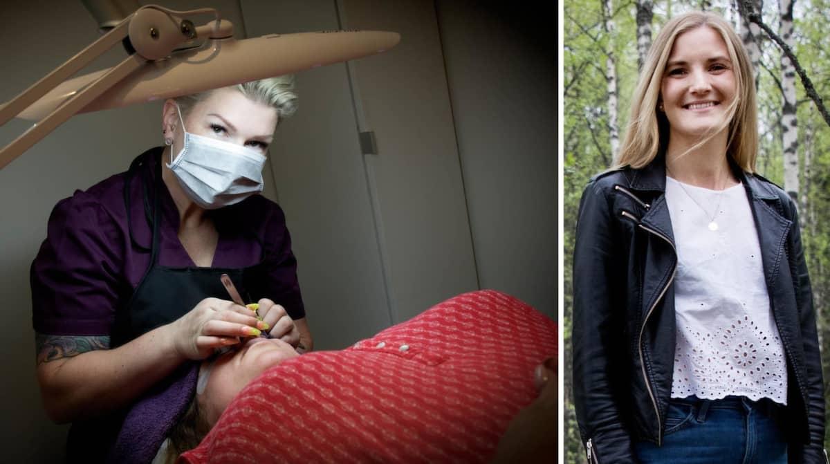 Sjuksköterskan Isabel bytte cancervård mot skönhetsvård
