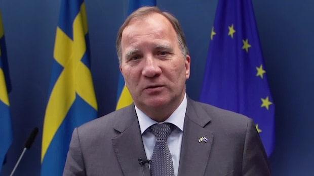 """""""Det blir tid för kalas när krisen är över"""" –Löfvens nya tal"""