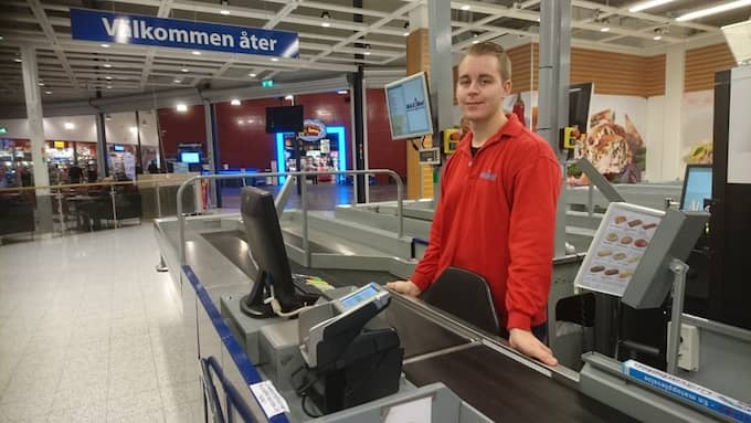 Henrik Pettersson har fått nog av kunder som inte hejar och äter obetalda varor. Foto: Privat