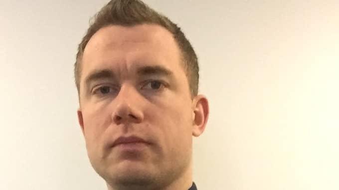 Niklas Lindroth, narkotikapolis i Alingsås varnar för dödsdrogen fentanyl. Foto: Privat