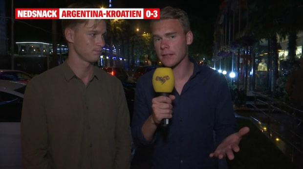 """Nedsnack Argentina-Kroatien: """"Det är faktiskt pinsamt"""""""