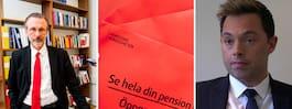 Stjärnadvokat försvarar utpekad i pensionshärvan