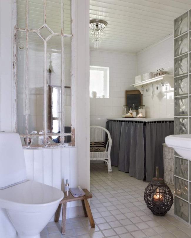 Lantligt badrum med nyrenoverad charm Leva& bo Expressen Leva& bo