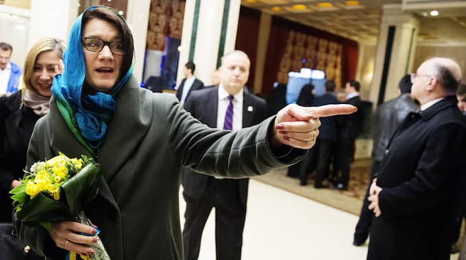 Handelsminister Ann Linde har fått kritik för sin slöja under besöket i Iran. Foto: Anna-Karin Nilsson / ANNA-KARIN NILSSON EXPRESSEN