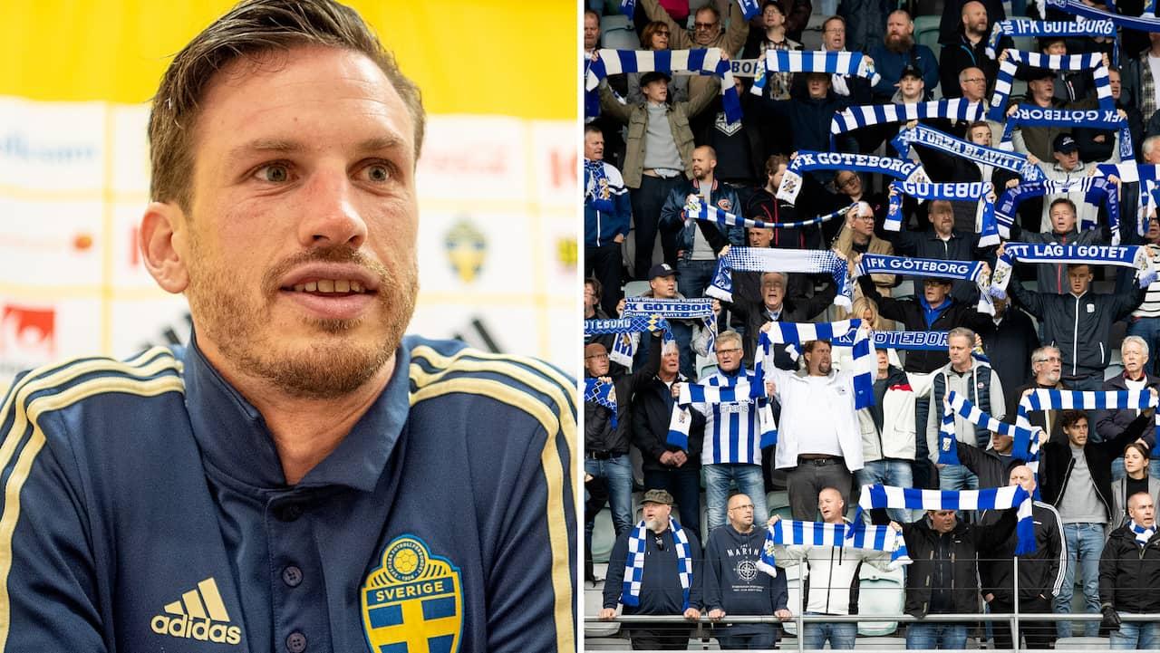 """IFK Göteborg: """"Chans att jag spelar i Blåvitt nästa säsong"""""""