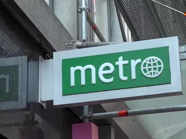 Metro har stoppats