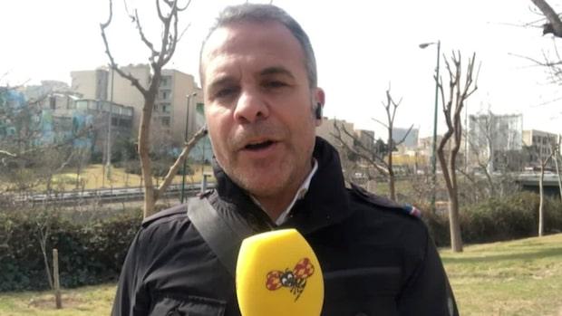 """Iran grips av coronaskräck: """"Folk är väldigt oroliga"""""""