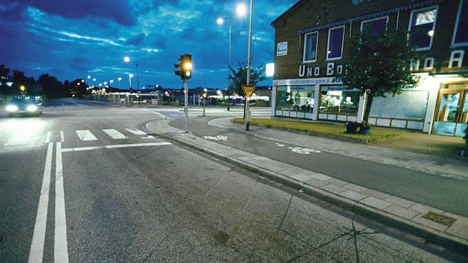 I det här området i Malmö planerar det kriminella gänget att hålla en stor fest, enligt uppgift på en känd svartklubb. Foto: GISELA SVEDBERG