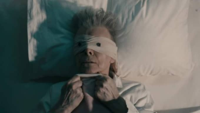 """Look up here I'm in heaven"". Så inleds texten till ""Lazarus"", David Bowies sista musikvideo."