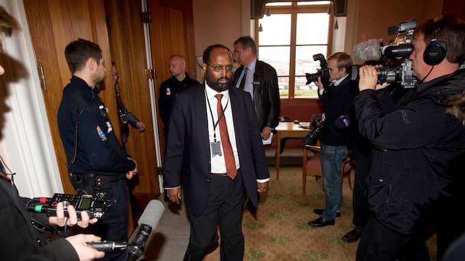 Abdirizak Waberi var riksdagsledamot för Moderaterna under mandatperioden 2010-2014. Han var suppleant i försvarsutskottet. Foto: SVEN LINDWALL