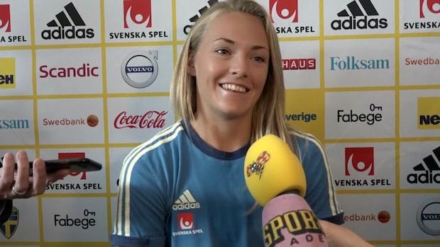 """Magdalena Eriksson: """"Chans att visa vad vi går för"""""""