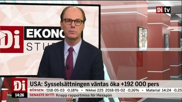 Ekonomistudion – 4 maj 2018