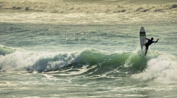 Som att surfa på riktigt? Ny anläggning på gång söder om Varberg. Foto: Ivan Bastien