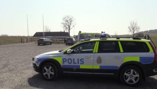 Nu slår polis järnring runt FN-mötet i Skåne