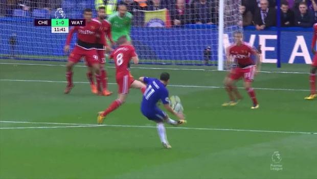 Bästa fullträffarna från Chelsea 2017/18