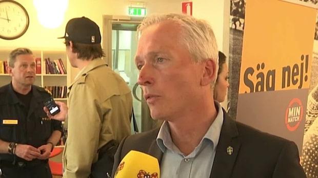 """Sjöstrand: """"Man blir förbannad"""""""