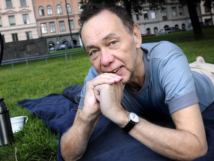 Kjell Alinge avled i helgen. Foto: Dan Hansson / Svd / Tt