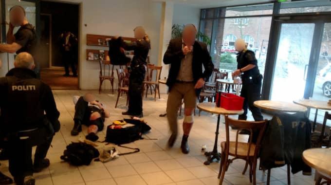 Allt tyder på att det var Lars Vilks som var målet för terroristattentaten i Köpenhamn. Foto: Ekstra Bladet