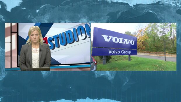 Volvo-aktien rasade på börsen efter beskedet
