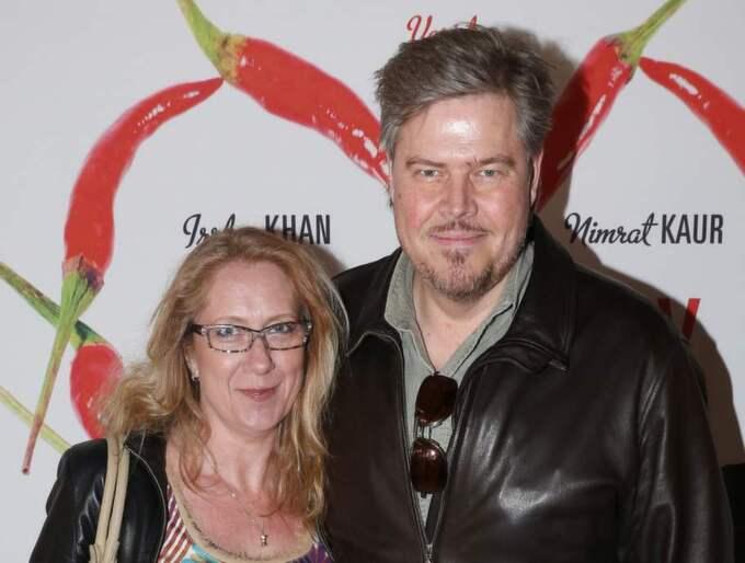 John Houdi tillsammans med hustrun Jeanette. Foto: Robert Eklund