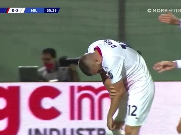 Skräckskada på Zlatans ersättare – varning för starka bilder