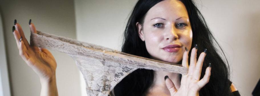 säljer använda trosor nakna tjejer video
