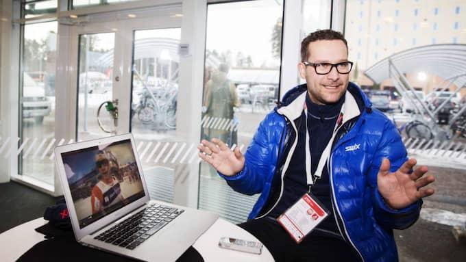 """Are Sörum Langås var hjärnan bakom Petter Northugs utspel efter VM-stafetten i Holmenkollen 2011. Om det blir nytt norskt guld i dag tror Langås, numera manager till Northug, att vi kan förvänta oss en ny """"klassiker"""" Foto: Nils Petter Nilsson"""
