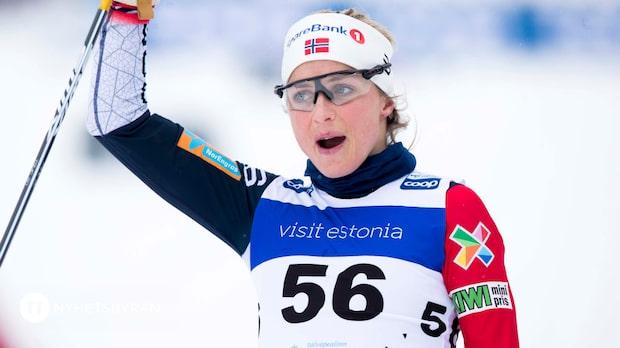 """Therese Johaug: """"Det var en väldigt bra dag"""""""