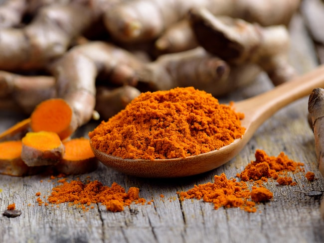 """Gurkmeja, också kallat det """"antiinflammatoriska guldet"""" har många positiva hälsoeffekter."""