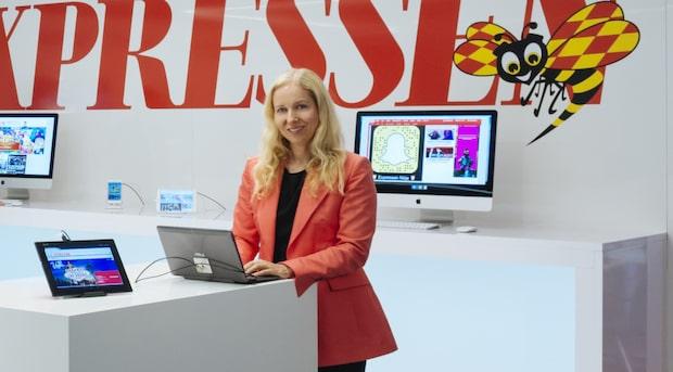 Anna Dahlberg nominerad till årets ledarskribent