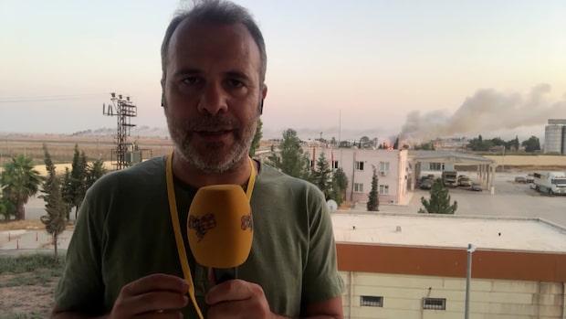 Kassem Hamadé om striderna i Syrien: Civila och journalister har dödats