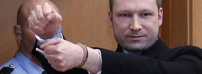 Anders Behring Breivik. Foto: Scanpix Norway