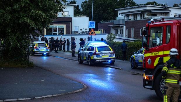 """Våldsamt storbråk i Alingsås: """"Två välkända grupperingar"""""""