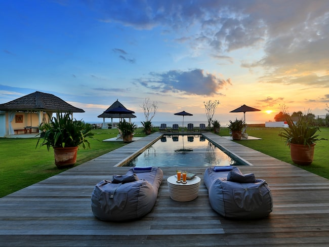 Villan Ombak på ön Nusa Lembongan nära Bali är ett av The Hideaways Clubs hus.