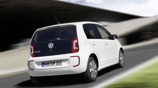 Volkswagen E-Up är smidig i stadsmiljö.