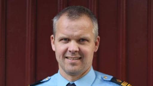 Anders Börjesson, chef över lokalpolisområde Göteborg city. Foto: Privat