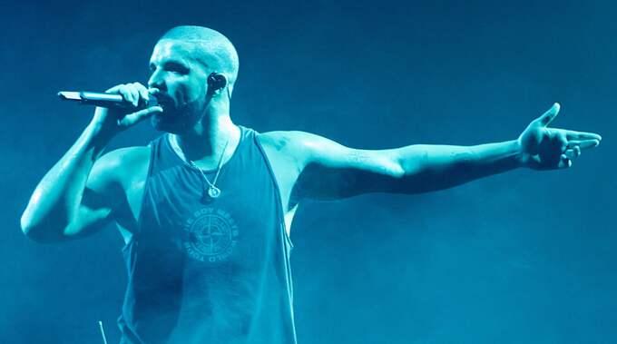 Drake på Globen Foto: Magnus Liljegren / STELLA PICTURES MAGNUS LILJEGREN