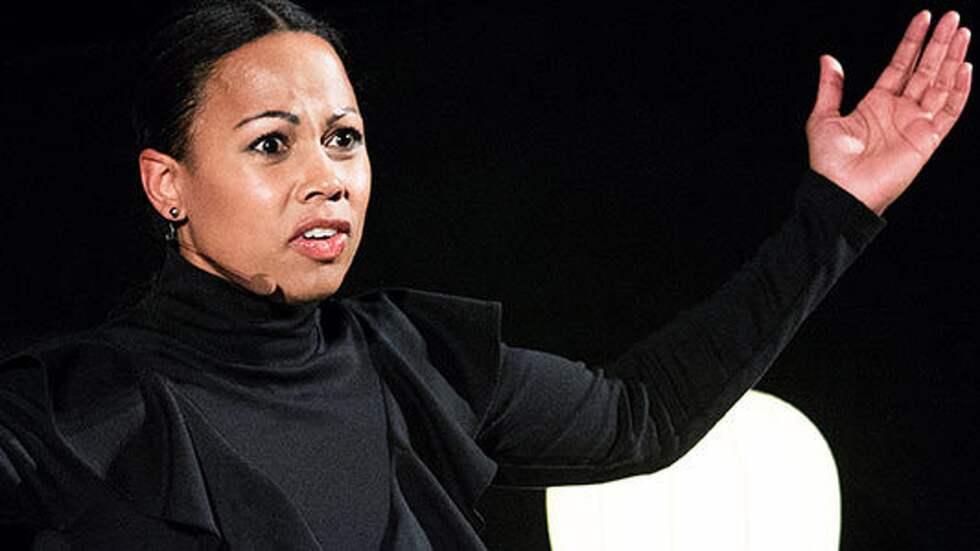 Kultur- och demokratiminister Alice Bah Kuhnke (MP). Foto: Olle Sporrong