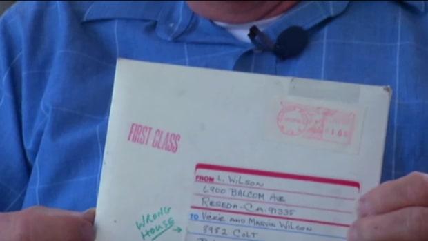 Han fick ett 26 år gammalt brev
