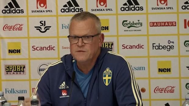 "Janne Andersson om Luis Enrique: ""Tragiskt"""