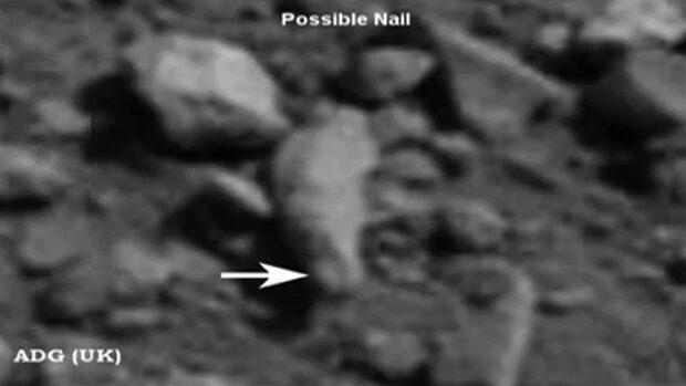 Mystiska föremål på Mars - enligt UFO-troende