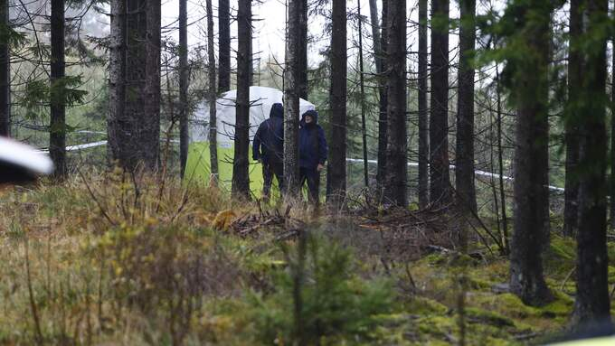 En kvinna hittades död i motionsspåret i Ulricehamn i mitten av oktober. Foto: HENRIK JANSSON