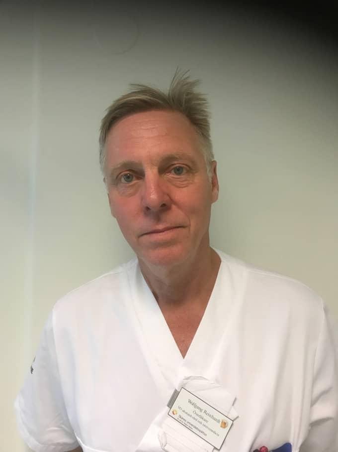 Wolfgang Reinhardt, överläkare vid SUS i Malmö, är upprörd över att man inte gör mer för att drabbade ska upptäcka sin sjukdom. Foto: Privat