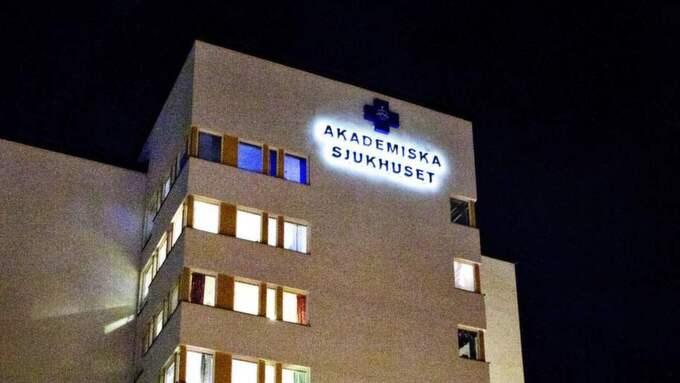 Dödskampen på Akademiska sjukhuset i Uppsala blev tv. Foto: Emil Nordin