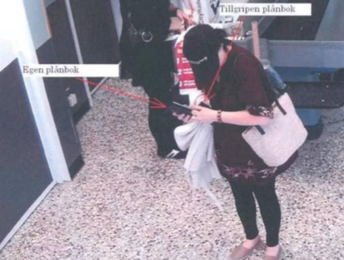 Det var i november 2012 som Anne-Sophie Lainesdotter Emilsson dömdes för att ha stulit drygt 500 kronor från en 77-årig kvinna i en amatvarubutik. Foto: Polisen