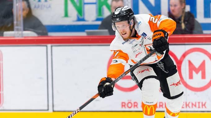 Henrik Nilsson räknas som förlorad för Karlskrona. Foto: PÄR OLERT / BILDBYRÅN